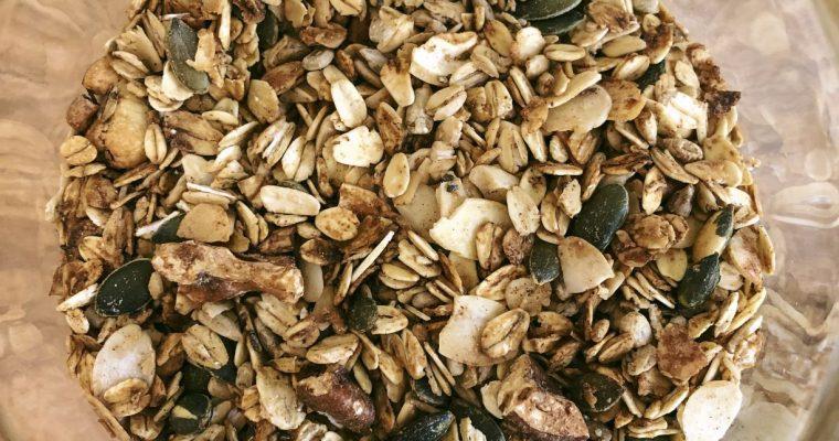 Low Sugar Healthy Granola
