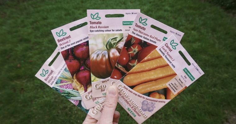Seeds I'm Sowing in March