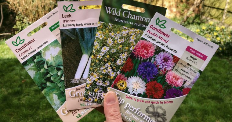 Seeds I'm sowing in the first half of April