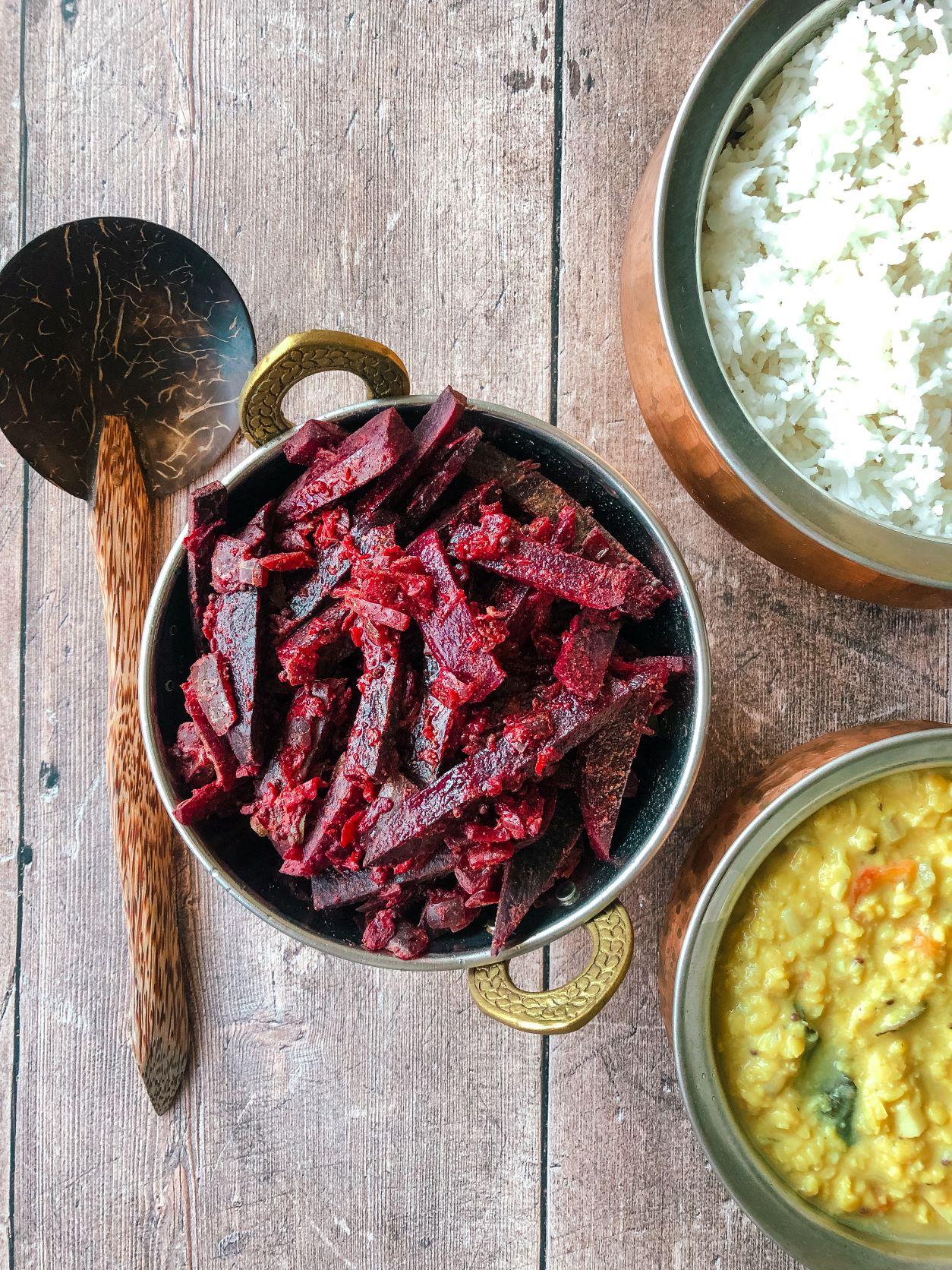 Authentic Sri Lankan Beetroot Curry Recipe
